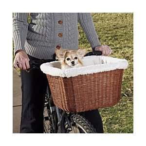Wicker Pet Bike Basket   Improvements
