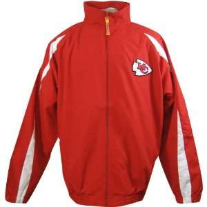 NFL Kansas City Chiefs Mens Big & Tall Microfiber Jacket