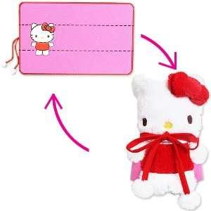 Hello Kitty] had a doll throws mini blanket TM Sanrio series Interior