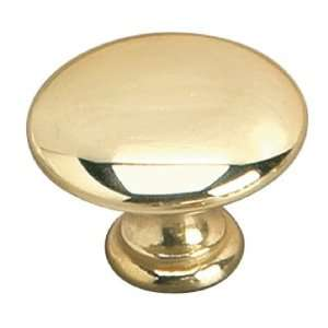 Brass Brass Knob(Door, Dresser, Cabinet) [ 1 Bag ]