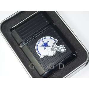 NFL DALLAS COWBOYS BUTANE TORCH LIGHTER with TIN BOX