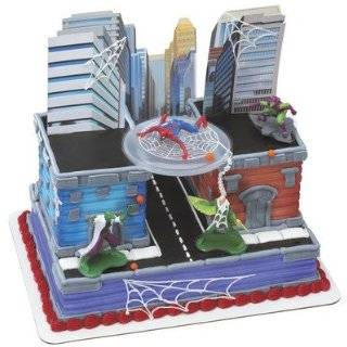 Adorable Marvel Comic Super Hero Spider Man 16 Piece Cake