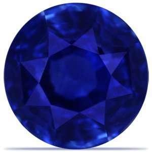 1.96 Carat Loose Blue Sapphire Round Cut Jewelry