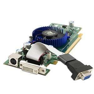 256MB PCI Express (PCIe) DVI/VGA Video Card w/TV Out Electronics