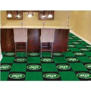 New York Jets NFL Team Logo Carpet Tiles