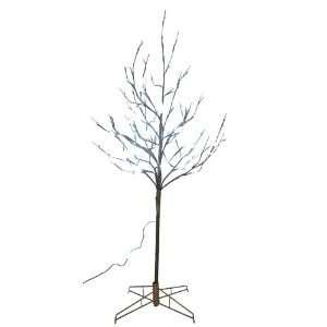 Kurt Adler 5 Feet Pre Lit LED Cherry Blossom Twig Tree