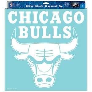 NBA Chicago Bulls 18x18 Die Cut Decal