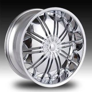 24x10 Tahoe Impala ss Wheels Rims Chrome Wheels 4pc 1set Automotive