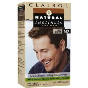 Clairol Natural Instincts for Men Hair Color, Light Brown