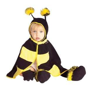 Lets Party By Rubies Costumes Lil Bee Infant Costume / Black/Yellow