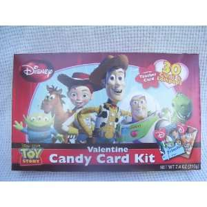 Toy Story Valentine Candy Card Kit 30 Cards & Lollipops