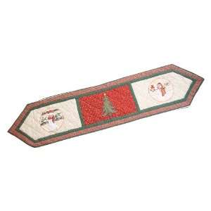 Patch Magic Jolly Snowmen Table Runner, 72 Inch by 16 Inch