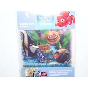 World of Disney Fabric Art Finding Nemo Tank Gang: Toys & Games