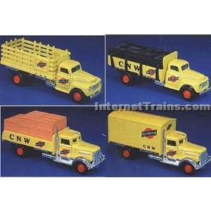 IMEX HO Scale Ford & Peterbilt 4 Truck Set   Frisco: Toys