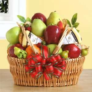 California Fruit and Cheese Gift Basket  Fathers Day Gift Birthday