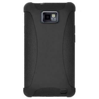 Quality BLACK Galaxy S2 Leather Case Holster with Optional Belt Clip
