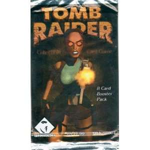 Tomb Raider Collectible Card Game   8 Card Booster Pack Toys & Games
