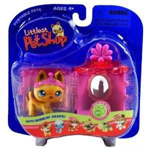 Hasbro Year 2006 Littlest Pet Shop Portable Pets Dog Days Pets