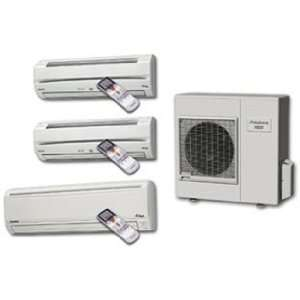 Friedrich M36QYF Quad Zone Wall Mounted Cool and Heat Pump Ductless
