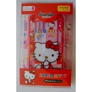 Back Cover Case ~Red Checker Hello Kitty~ Cell Phones & Accessories