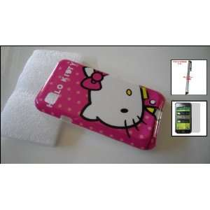 Samsung T959 Vibrant Hello Kitty Pink Image Phone Cover Case