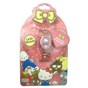 Hello Kitty 50th Anniversary LCD Watch Toys & Games
