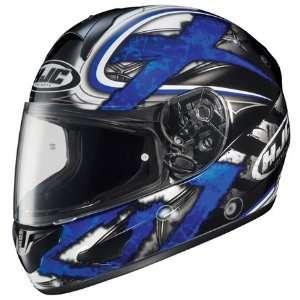 HJC CL 15 Shock Full Face Motorcycle Helmet MC 2 Blue Large L 914 924