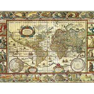 Educa World Map 1000 Piece Puzzle Toys & Games