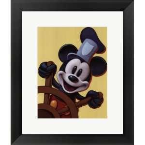 Mickey Mouse: Imagine Adventure by Walt Disney Framed Art Size 13.75 X