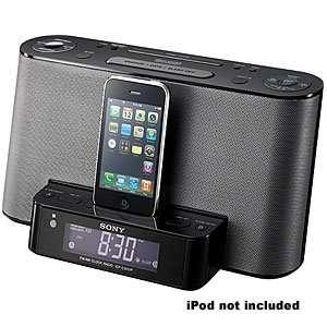 Sony Alarm Clock Radio With iPod Dock Digital AM/FM Tuner