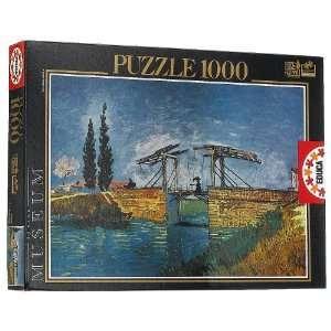 Vincent Van Gogh Pont De Langlois Jigsaw Puzzle 1000pc  Toys & Games