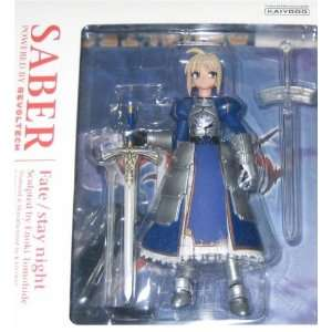 Fate Stay Night Revoltech Saber Action Figure 011021 Toys & Games