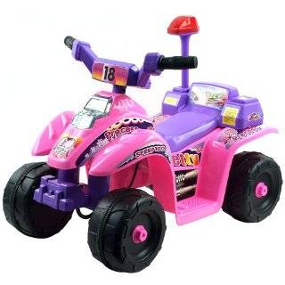 Tinkerbell Power Wheels Quad Ride On  Toys & Games