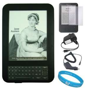 Premium Durable Silicone Skin Cover for  Kindle 3