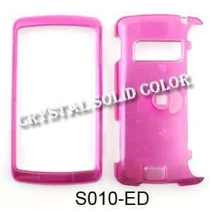 LG ENV 3 / ENV3 vx9200 Crystal Solid Hot Pink Hard Case/Cover