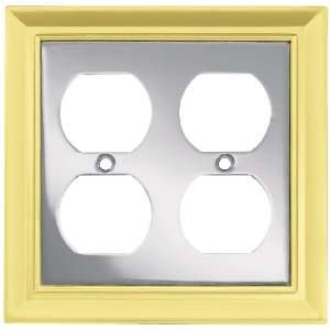 Liberty Hardware 64199 Architectural Double Duplex Wall Plate