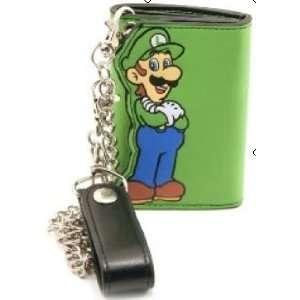 Wallet   Nintendo   Super Mario   w/Chain   Luigi