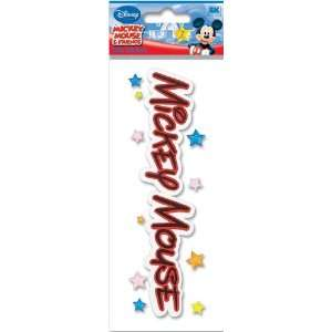 Disney Mickey Mouse Title Dimensional Sticker Arts