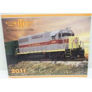 MTH 2011 HO Model Trains Catalog: Toys & Games