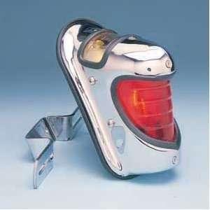 TAILLIGHT TAIL LIGHT FITS HARLEY BOBBER BY CUSTOM CHROME: Automotive