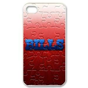 Designed iPhone 4/4s Hard Cases Bills team logo Cell