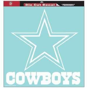 NFL Dallas Cowboys 8 X 8 Die Cut Decal
