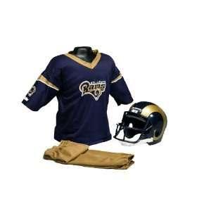 St. Louis Rams Kids Medium NFL Helmet & Uniform Set