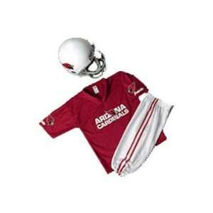 Cardinals Youth NFL Team Helmet and Uniform Set