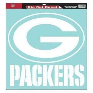 Green Bay Packers NFL Die Cut Decal