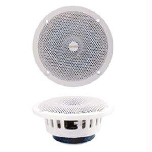 514 5 1/4 Classic Series Speaker   White   4 OHM: GPS & Navigation