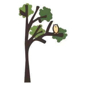 Owl On Tree Border Laser Die Cut Arts, Crafts & Sewing