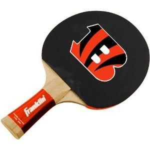 Cincinnati Bengals Table Tennis Paddle