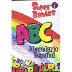 A B C Abecedario Español Super Babies Vol 1: Movies & TV