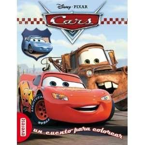 Cars. Un cuento para colorear. (9788444161754) Walt